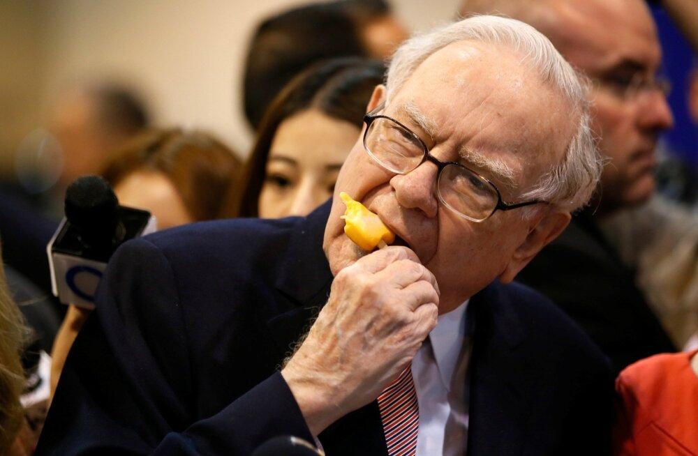 3,3 miljonit tuleb soovijal välja käia lõuna eest Warren Buffettiga