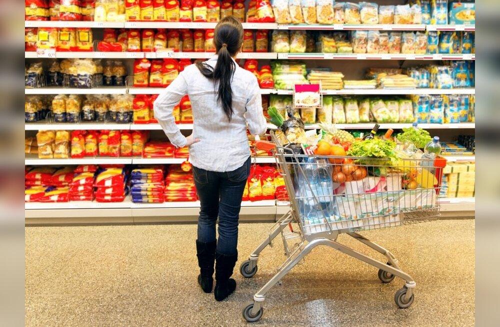 Rasvad, valgud ja süsivesikud toidupakendil