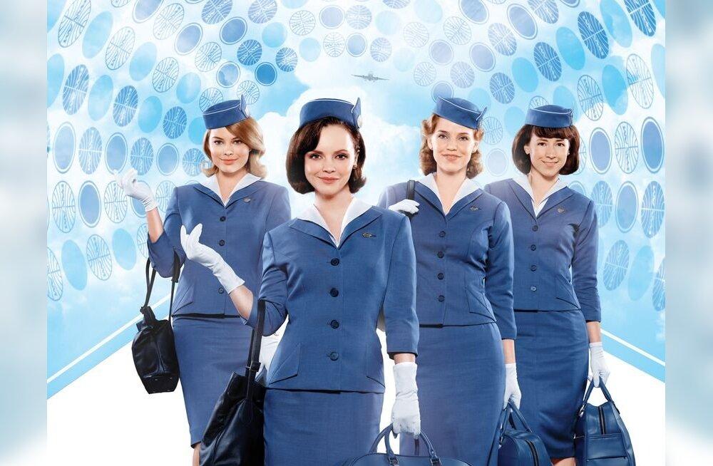 """Uus sari """"Pan Am"""" Margot Robbie ja Christina Ricciga peaosas toob sinuni lennureiside kuldajastu põnevad lood"""