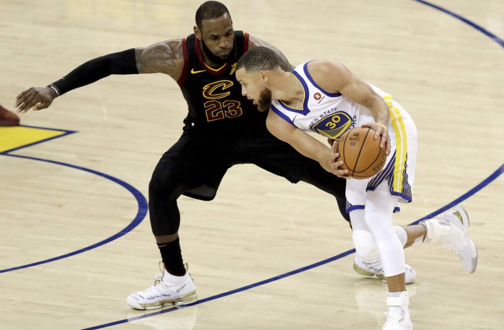 LeBron James ja Stephen Curry
