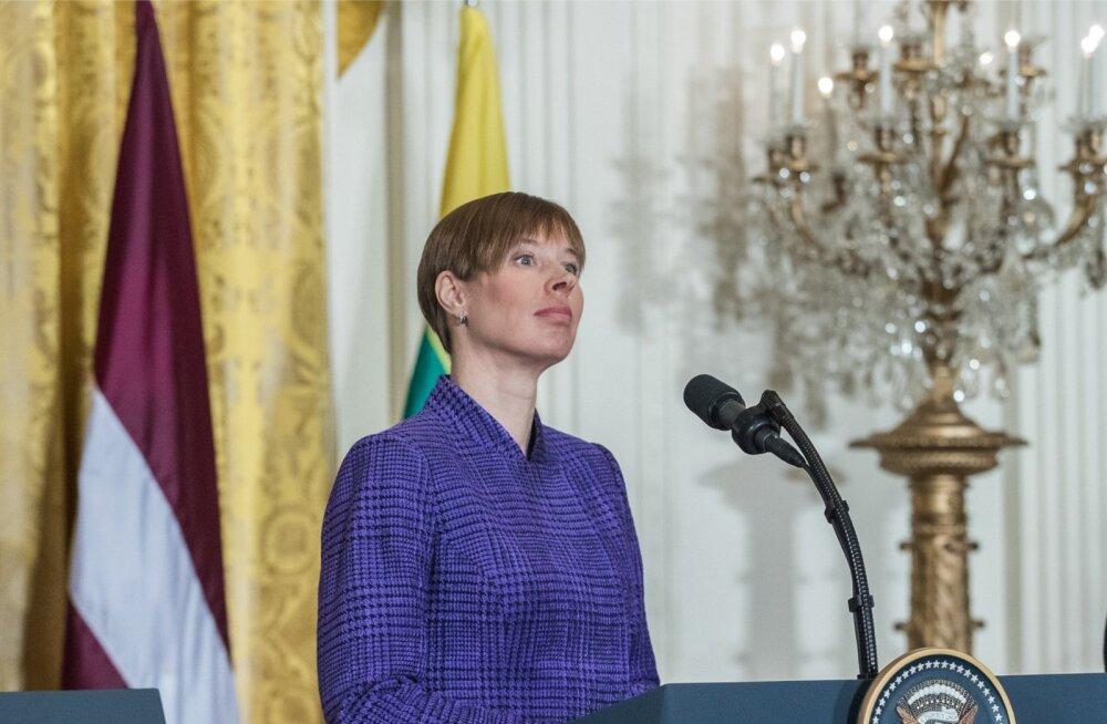 Kersti Kaljulaiu kohtumine Donald Trumpiga