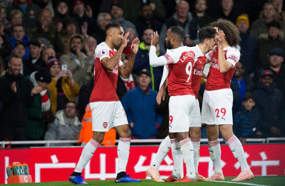 VIDEO | Kümme järjest! Fantastiline tiimivärav viis Arsenali järjekordse võiduni