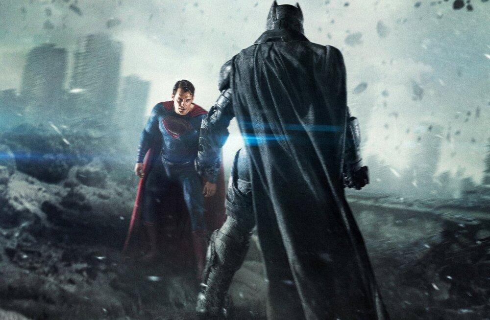"""""""Batman vs Superman: Õigluse koidik"""" ainetel: superkangelaste vastasseisud läbi aegade"""
