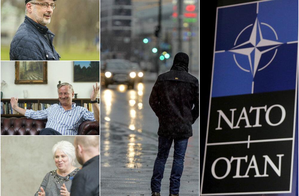 HOMMIKU ÜLEVAADE: NATO soov peatada alliansi laienemist tekitab mitmeid küsimusi, alanud nädal tuleb vihmane