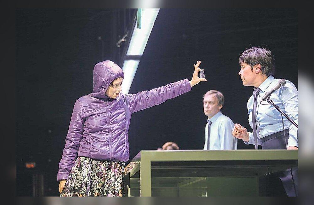 NO-teatri uuslavastuses aetakse naised töölt vaenuliku välja peale
