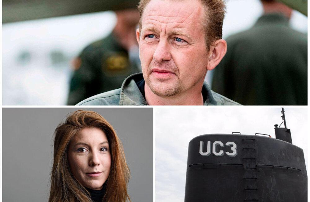 Taani allveelaevnik Madsen tunnistas Rootsi ajakirjaniku Kim Walli surnukeha tükeldamist
