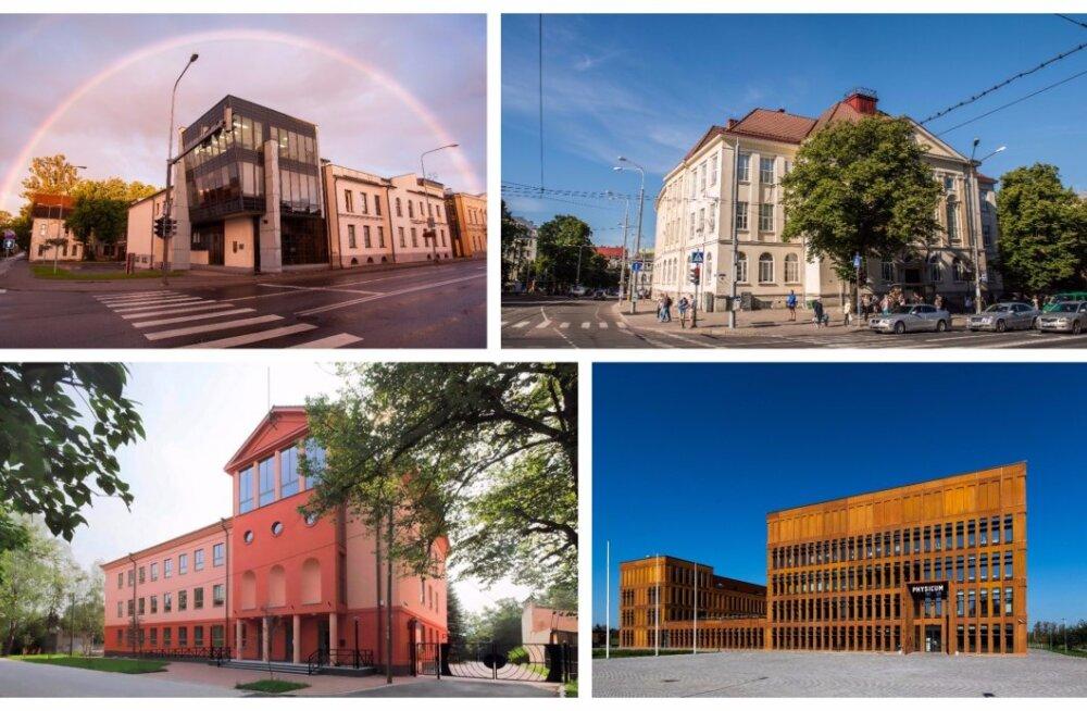 FORTE TEST | Kas tunned ära, missugune Eesti koolimaja on pildil?