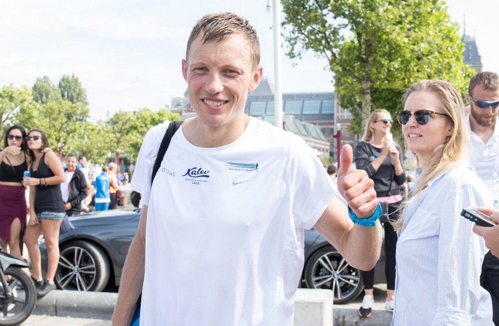 Roman Fosti, Amsterdami EMi poolmaraton