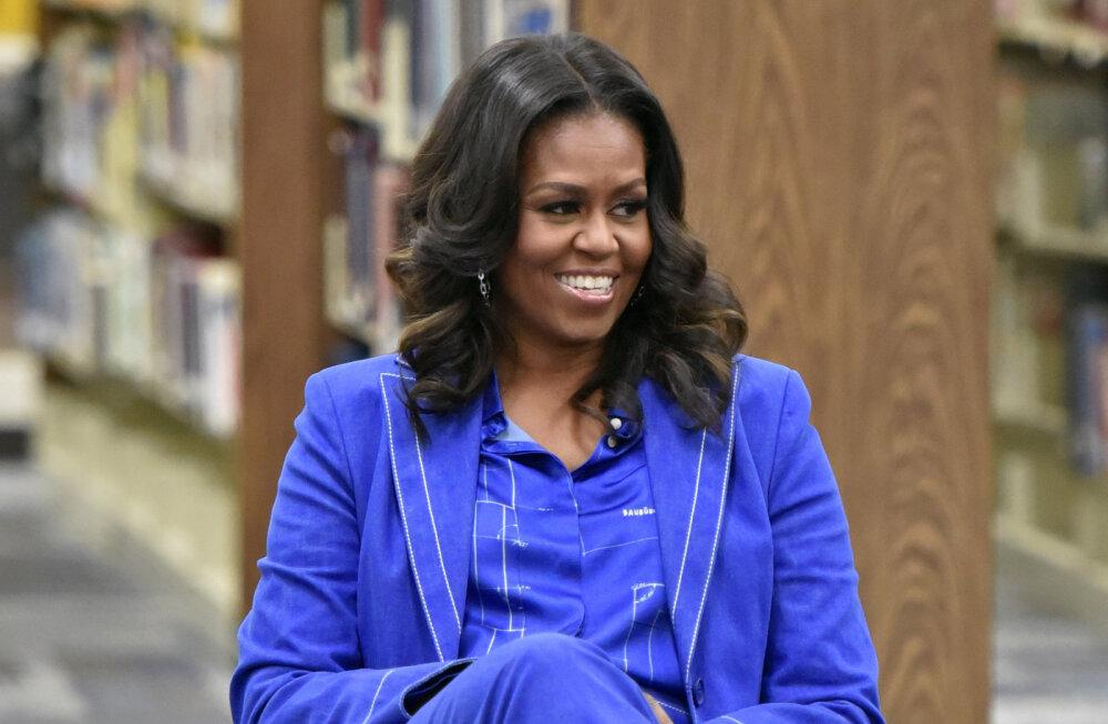 Michelle Obama meenutab: tundsin, nagu oleks mu perekond paisatud suurtükist välja mingisse kummalisse veealusesse maailma
