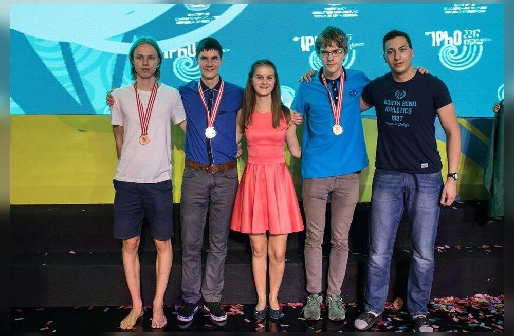 Eesti võistkond Rahvusvahelisel füüsika olümpiaadil Indoneesias