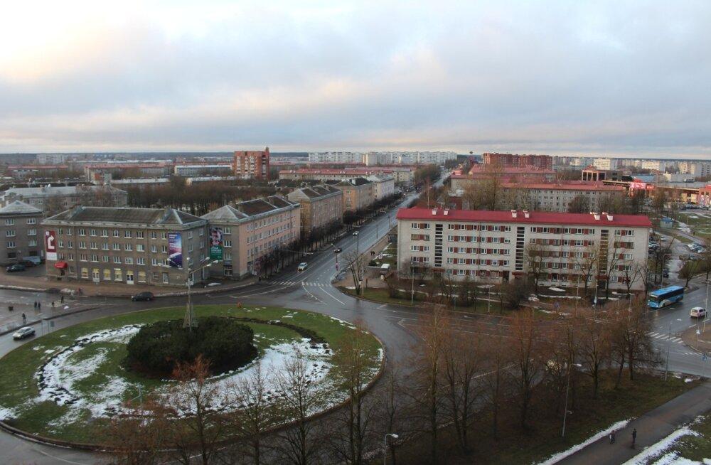 """На Таллиннском шоссе в Нарве в ближайшее время появится """"зеленая волна"""""""