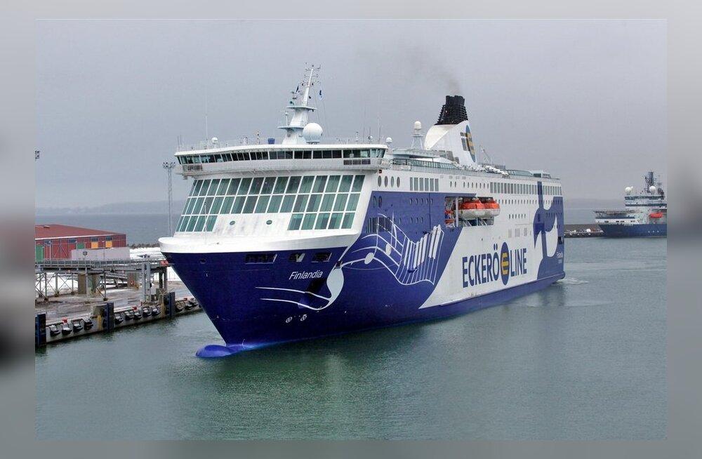 Eckerö Line kasvastas reisijate arvu. Eestlased on laeva omaks võtnud