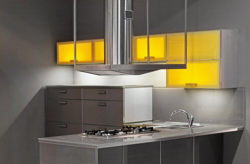 Õhupuhasti vali targalt - arvesta köögi suuruse ja planeeringuga