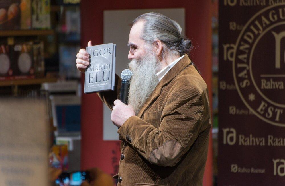 """Raamatu """"Igor Mangi elu ja astroloogiatarkused"""""""