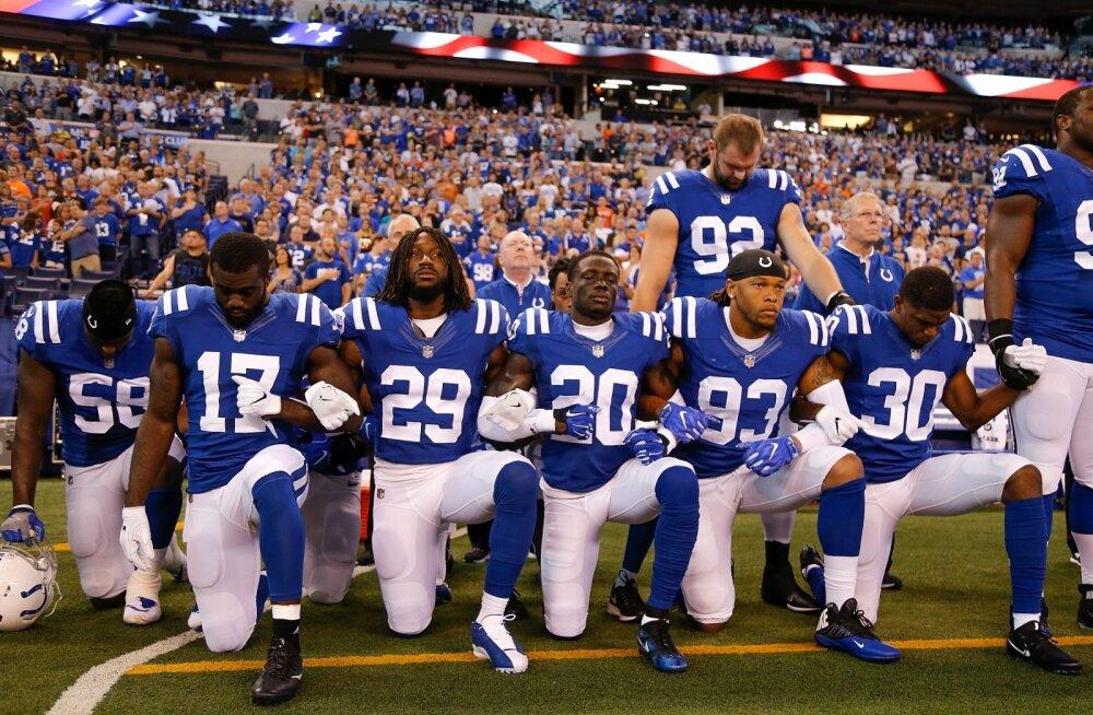 Margus Hunt ühines protestivate Coltsi jalgpalluritega