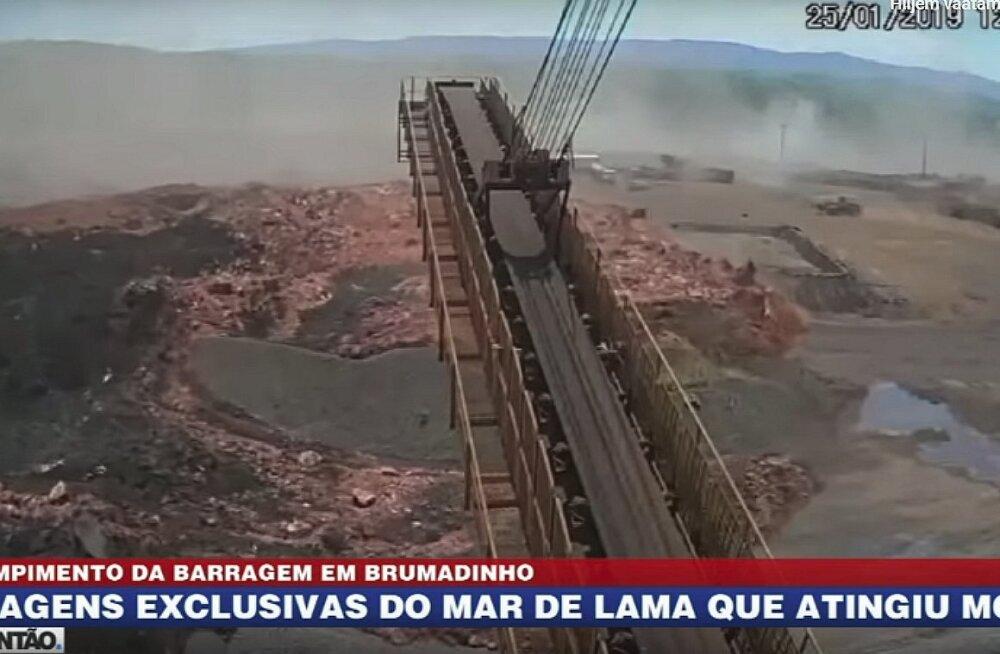 VIDEO | Hetk, mil tammivaringujärgne mudalaviin mattis Brasiilias enda alla sadu inimesi