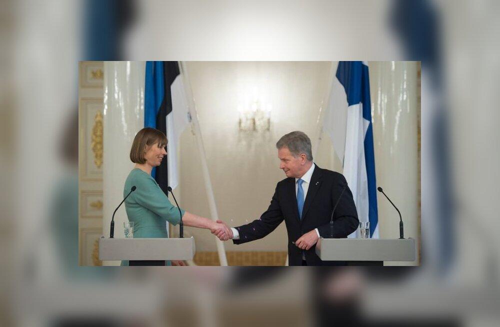 Kaljulaid õnnitles Niinistöt tagasivalimise puhul ka Facebookis