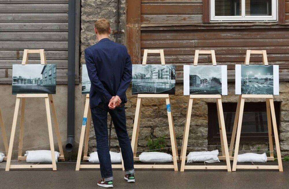Искусство вышло на улицы: в Пыхья-Таллинне подходит к концу проект уличных фотовыставок