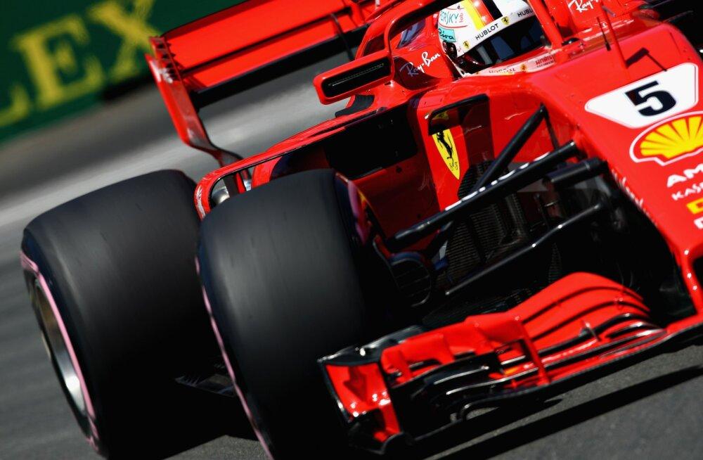 Kanada GP-l stardib esikohalt Vettel, Räikköneni otsustav katse lõppes murul