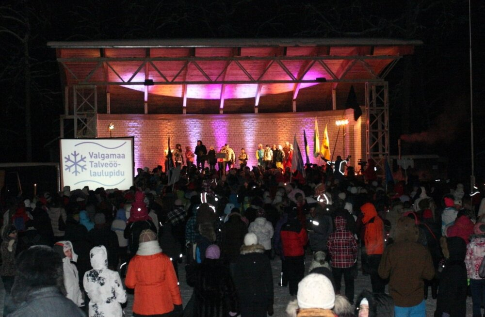В зимней столице Эстонии Отепяэ пройдет ночной певческий праздник