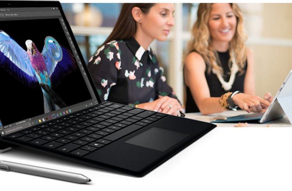 Ei kulunud viit aastatki: Microsofti süle- ja tahvelarvuti hübriid Surface on nüüd Eestis müügil