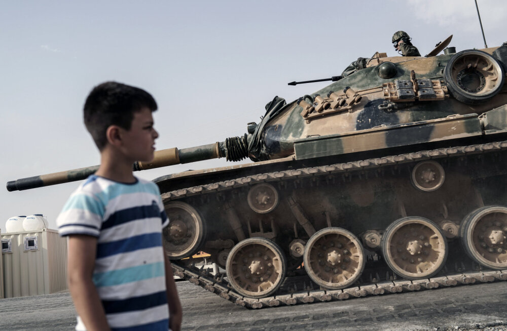 Турецкий танк в Сирии