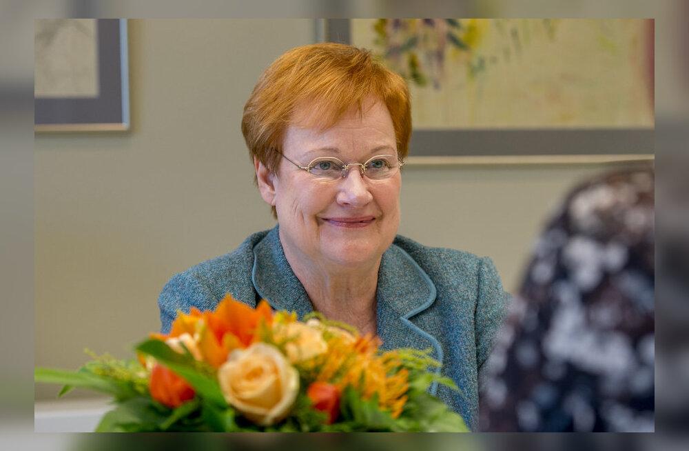 Tarja Halonen: loodan, et eestlastel on Soomes hea elada