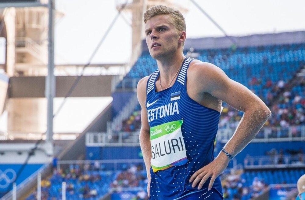 Karl Robert Saluri tõusis seitsmevõistluses uuele tasemele.