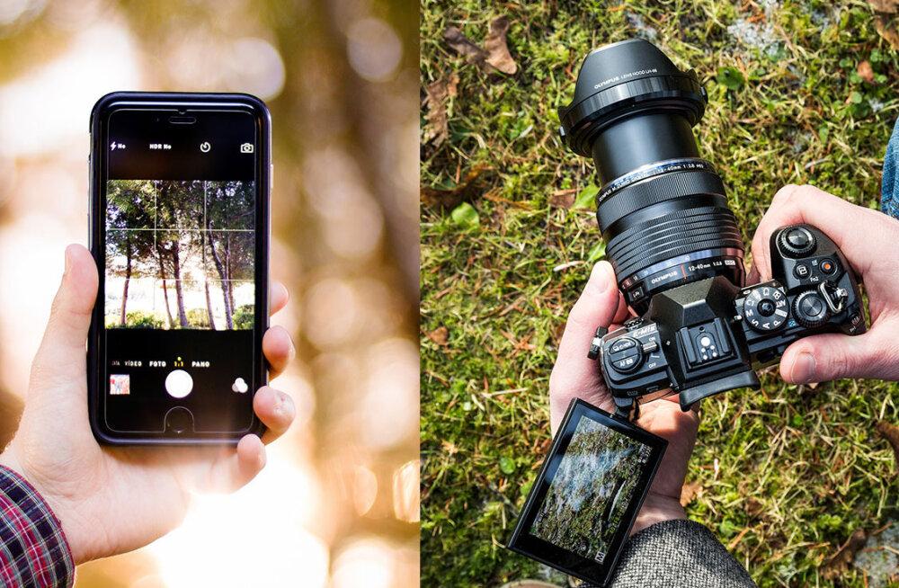 """Kui nutitelefonist pildistamiseks enam ei piisa, siis loe, millist """"päris"""" fotokaamerat hankida"""