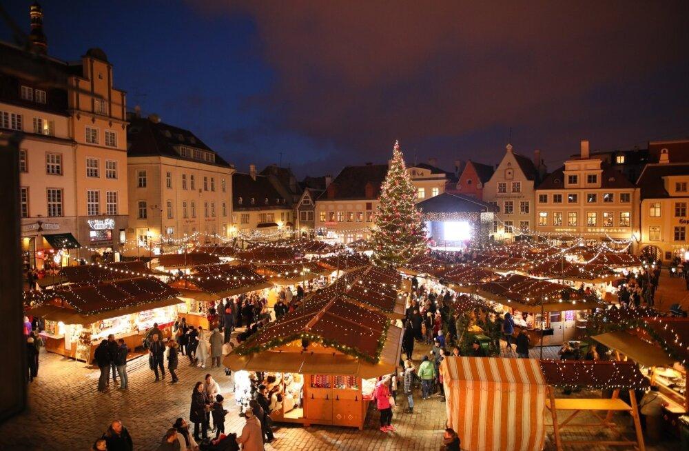 Mõjukas majandusajakiri soovitab külastada Tallinna jõuluturgu: legendi kohaselt valis Jõuluvana ise selle koha välja!
