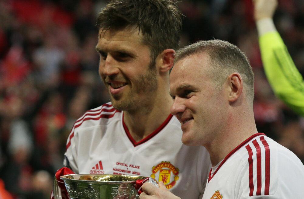 Michael Carrick ja Wayne Rooney