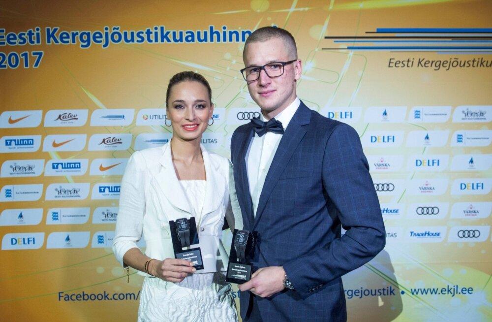 Ksenija Balta ja Janek Õiglane.