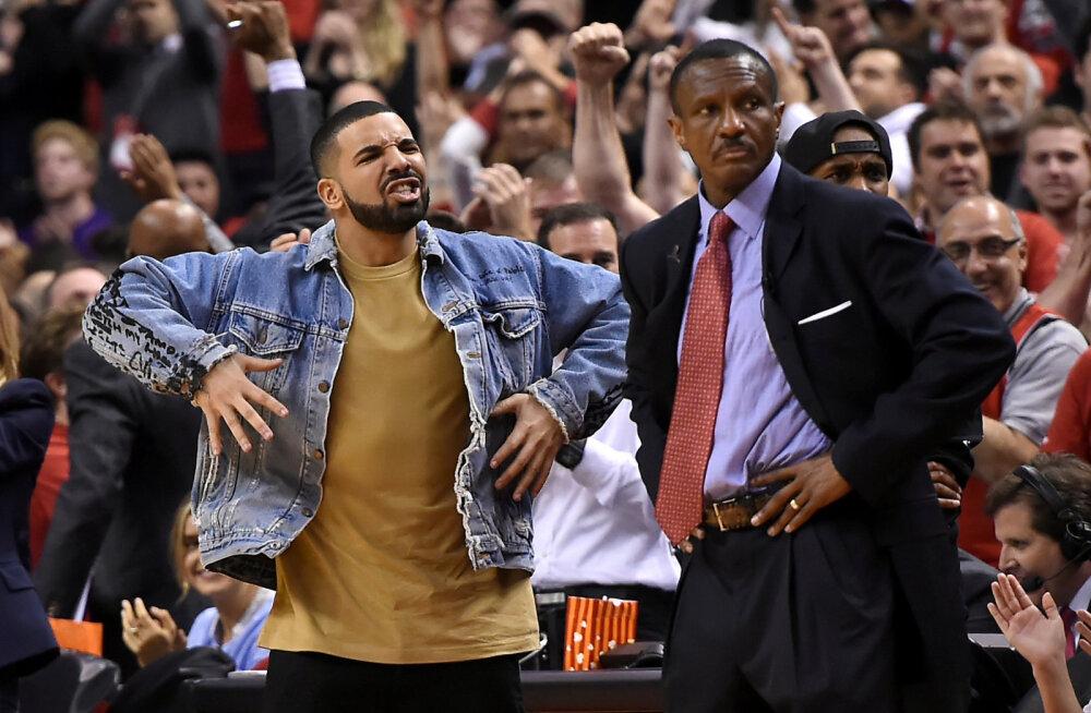 NBA palus Torontol räppar Drake'i tuure maha tõmmata