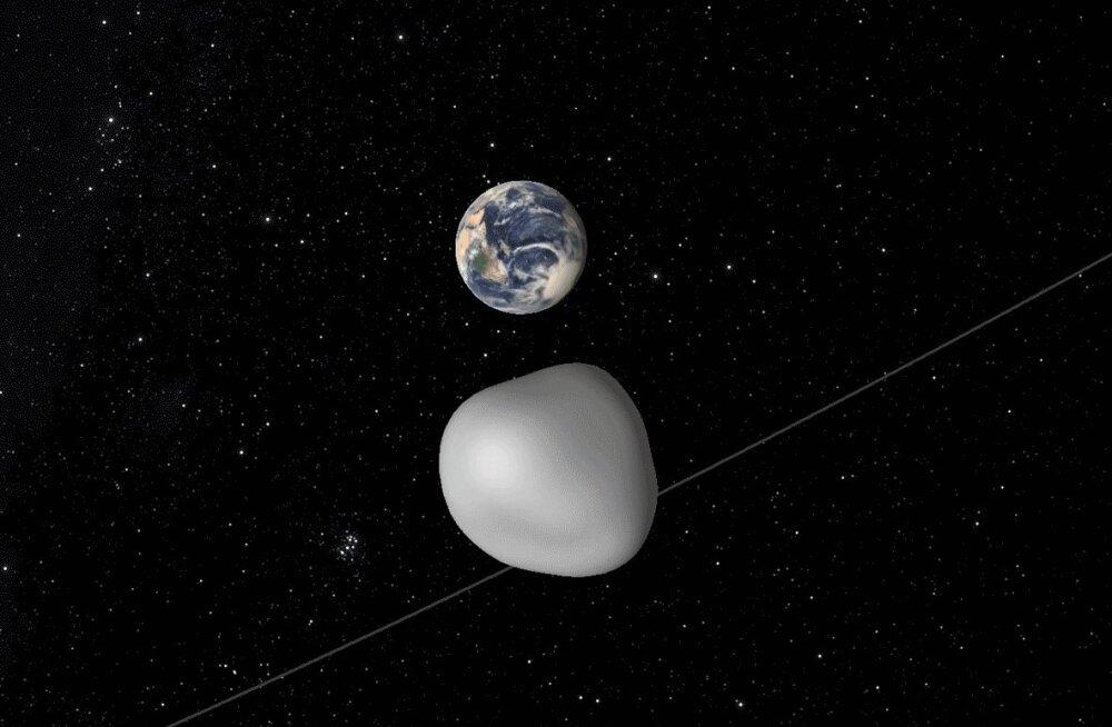 NASA tahab sügisel Maast mööduva asteroidi peal testida uut planeedikaitsesüsteemi