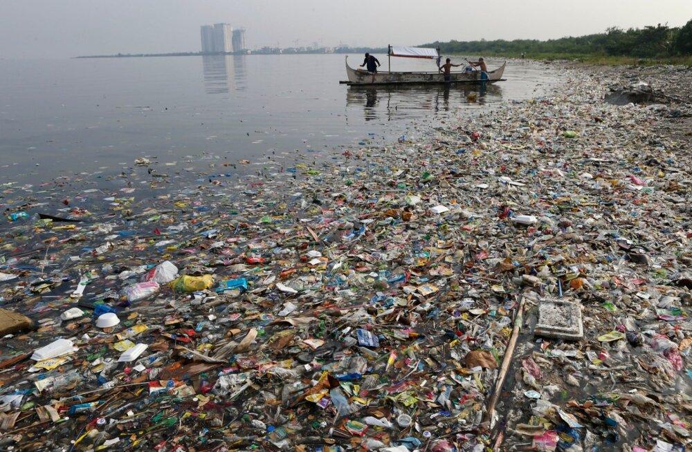 Nii reostunud on Manila laht Filipiinidel.