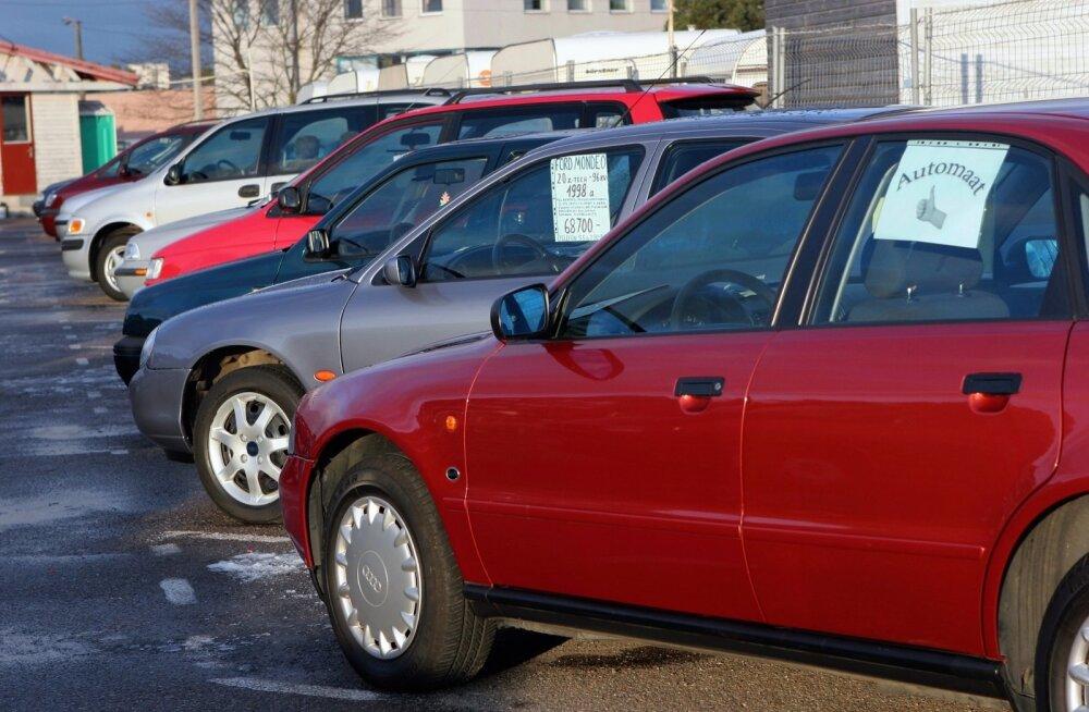 autoturg, kasutatud autod, autode müük