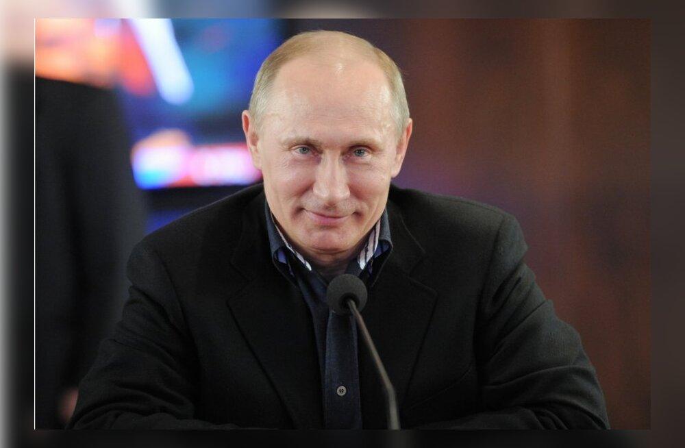 Putin kuulutati valimiste võitjaks 63,75 protsendiga