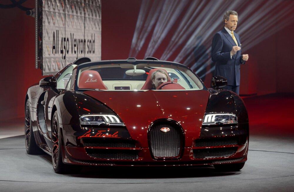 Kui kulukas on superauto ülalpidamine? Vaatame Bugatti Veyroni näitel