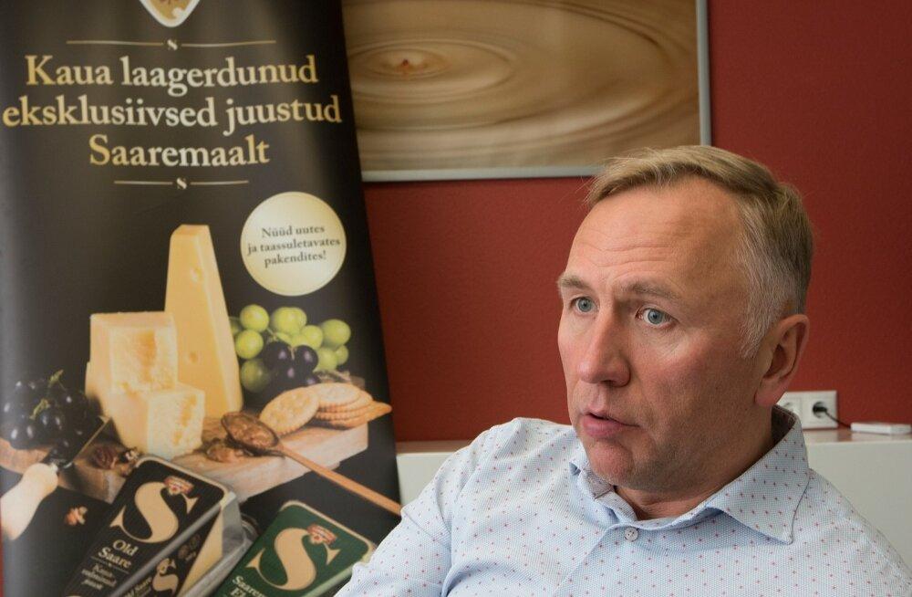 Saaremaa Piimatööstus, Ülo Kivine