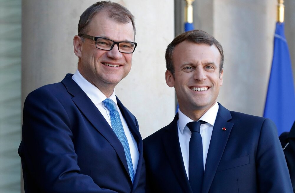 Sipilä ja Macron