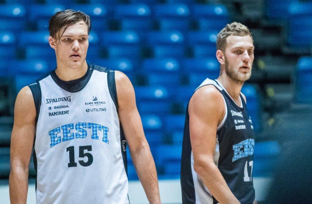 Eesti korvpallikoondis, Maik Kalev Kotsar ja Siim-Sander Vene