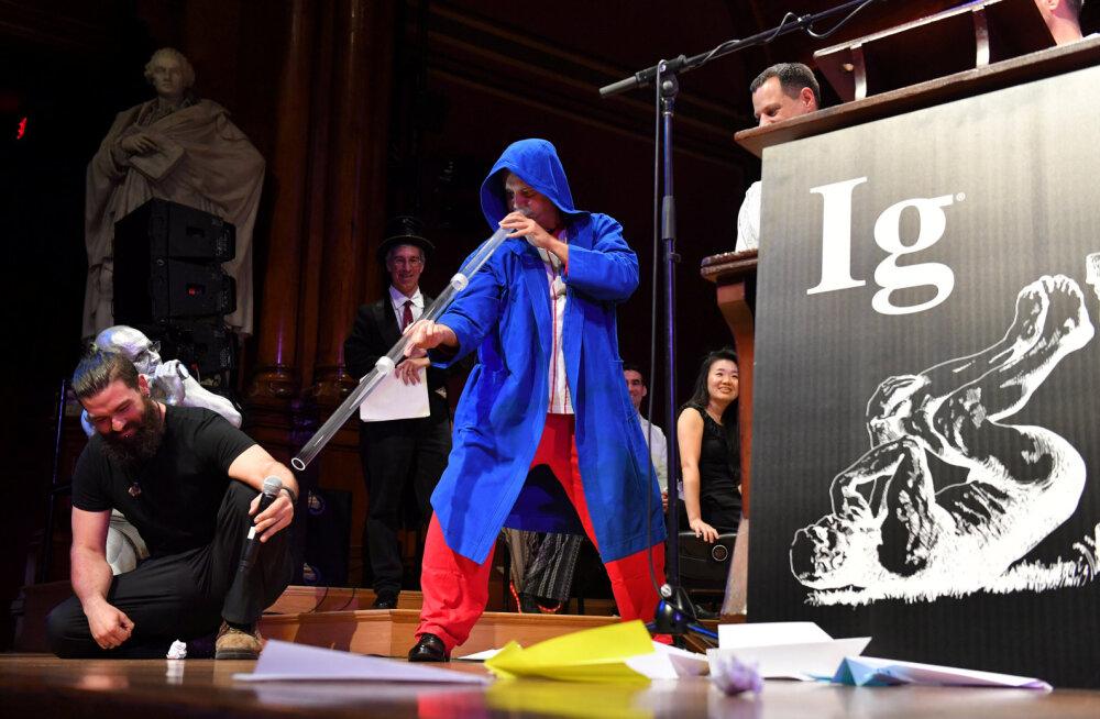 Taadikõrvad, didžeriduu-uni ja riskikrokodillid: eile jagati (pealtnäha) absurdsete avastuste eest taas Ig Nobeleid