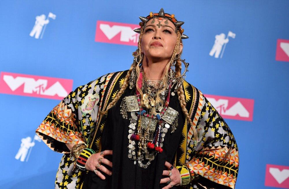 Palju õnne! Madonnat ootab ees elu üks suurimaid auhindu