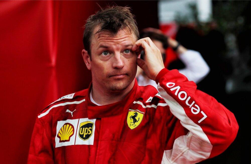 Otsekohese ütlemisega Kimi Räikkönen