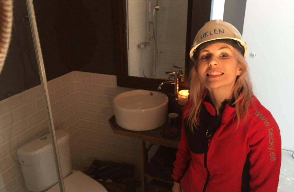 """""""Naabrist parema"""" saates said valmis vannitoad: Võiduroseti teenisid hipsterid Helen ja Karl, punase said aga Elina ja Rasmus!"""