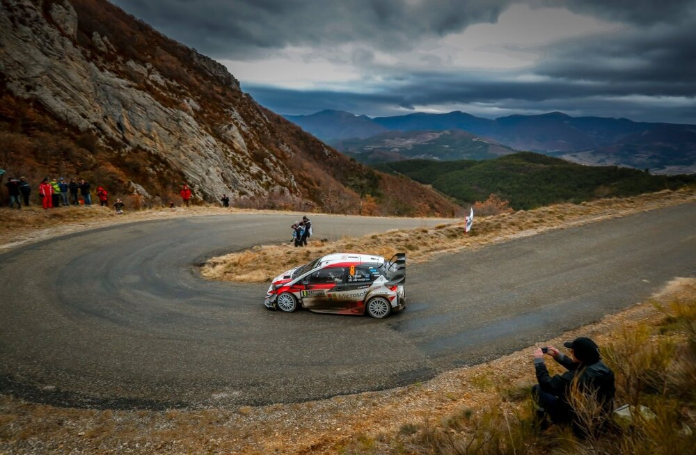 Monte Carlo ralli oli Ott Tänaku ja Martin Järveoja jaoks Toyota karjääri esimene.
