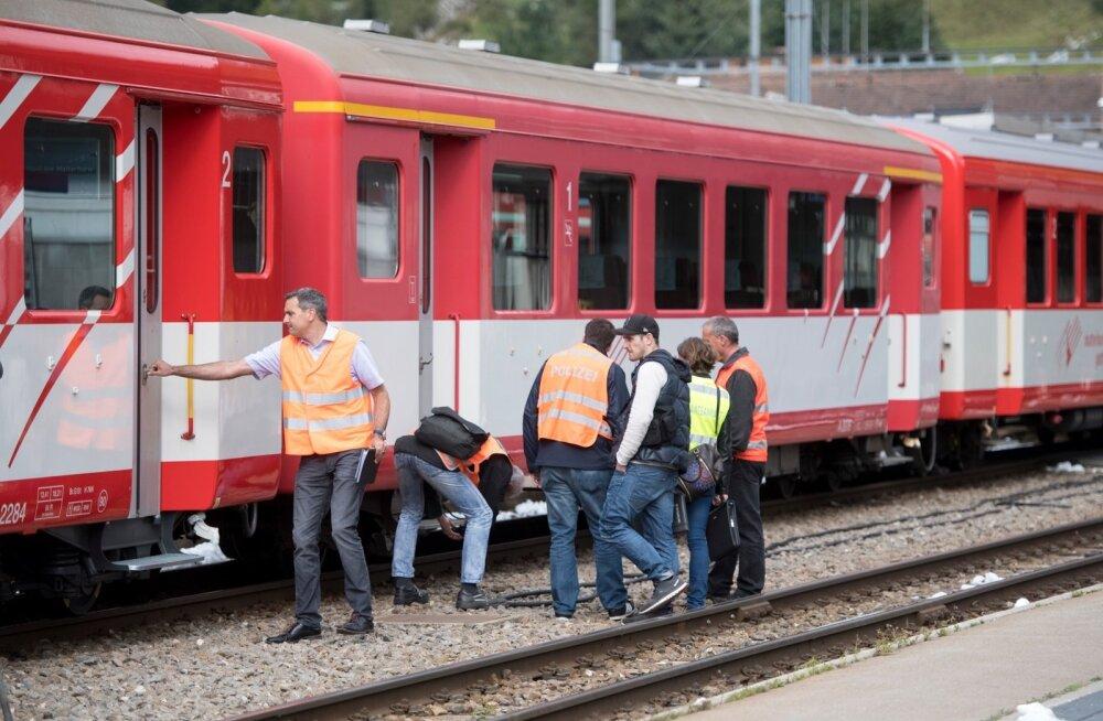 Switzerland Train Crash