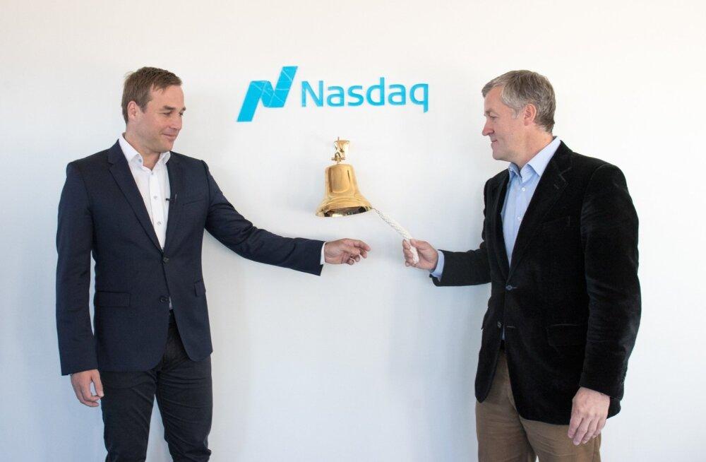 Jan Andresoo ja Priit Põldoja tulid eelmisel aastal Inbanki võlakirjadega börsile.