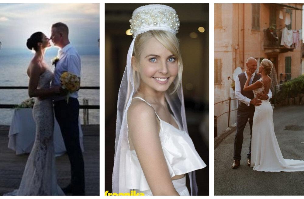 TOP 8   Eesti kuulsused armastavad pulmi välismaal! Kõige eksootilisemad staaride tseremooniad