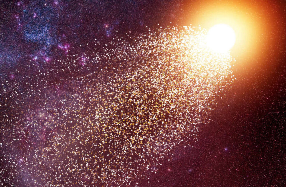 Kiired tähed võivad ka ühest galaktikast teise kolida